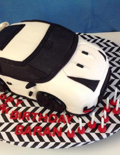 12th Car Birthday Cake