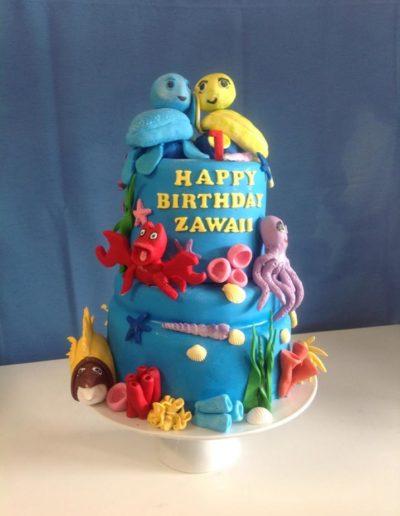 Birthday Cake Sealife