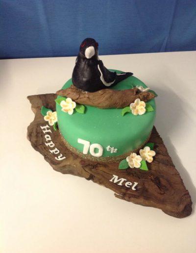 70th Birthday Cake Magpie