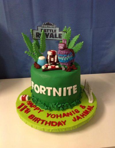 11th Birthday Cake Fortnite