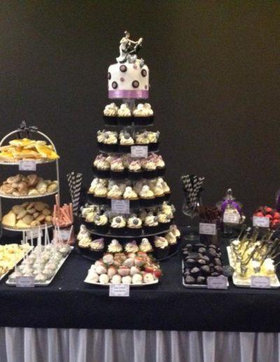 Lolly Buffet Wedding Cake