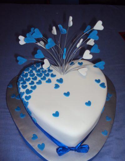 engagement anniversary cake