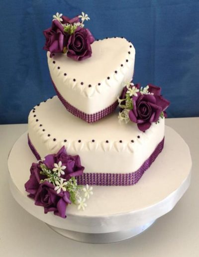 Wedding Cake Heart
