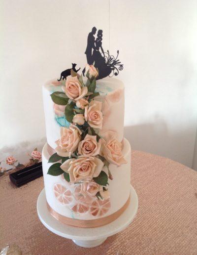 wedding cakes mackay