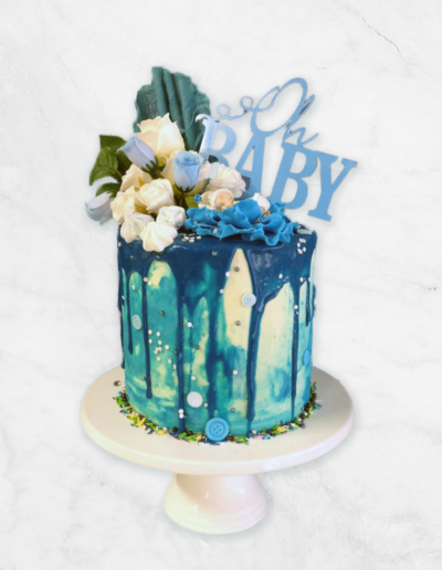 baby shower cake mackay