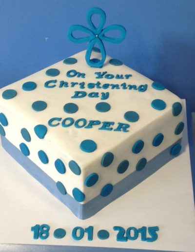 christening and naming cakes