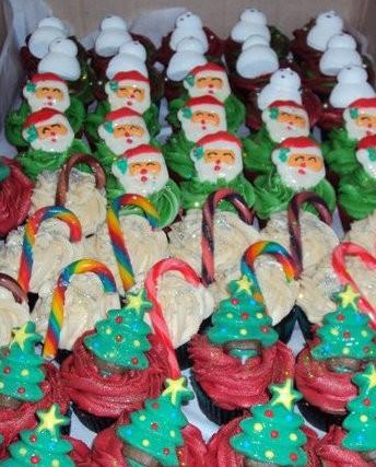 Christmas Cupcakes Mackay
