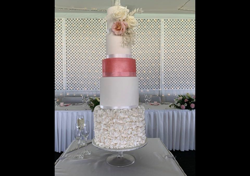 Wedding Cake for my niece (made by Mackay Cakes)