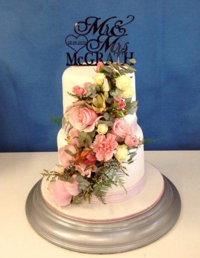 wedding cake mcgrath